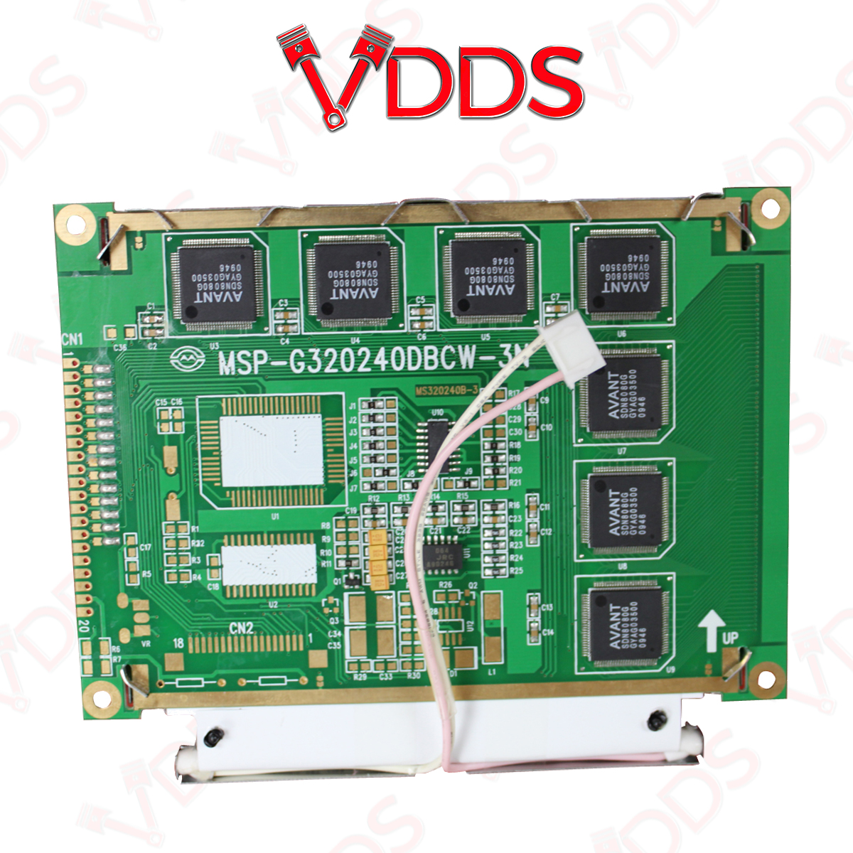 gm tech 2 lcd screen genuine replacement part ebay. Black Bedroom Furniture Sets. Home Design Ideas